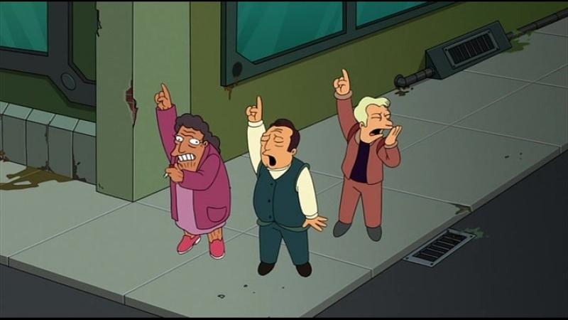 Futurama: The Beast with a Billion Backs (Panic)