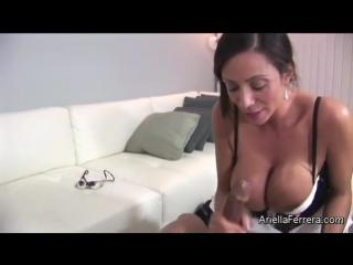 Doctor ariella ferrera sucks titfuck black cock