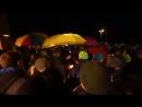 Ein Trauermarsch für die ermordete Mia