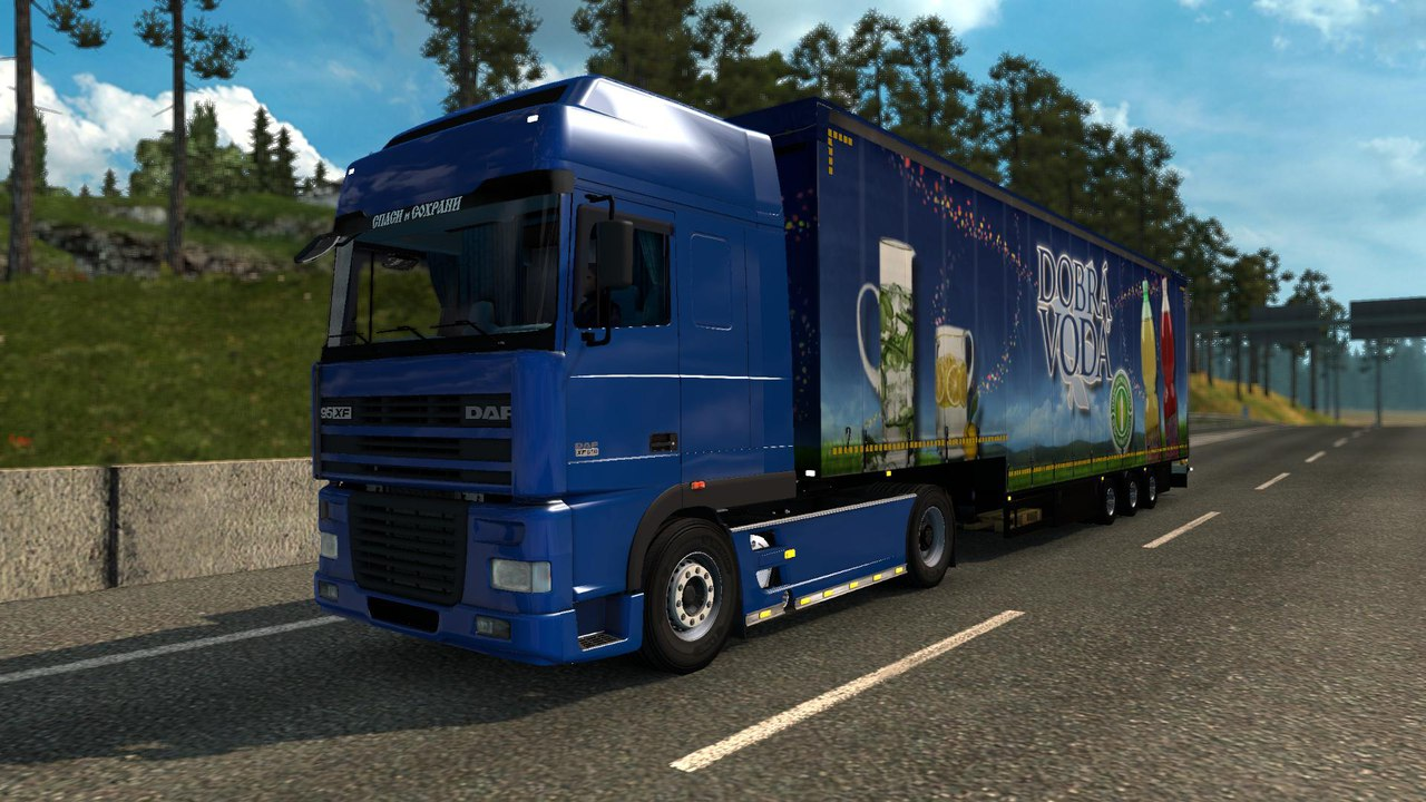 DAF 95 XF + FIXED + UPDATED [1.27]