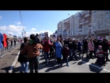 Бессмертный полк в Сургуте. 2017 год. Николай Гусев.