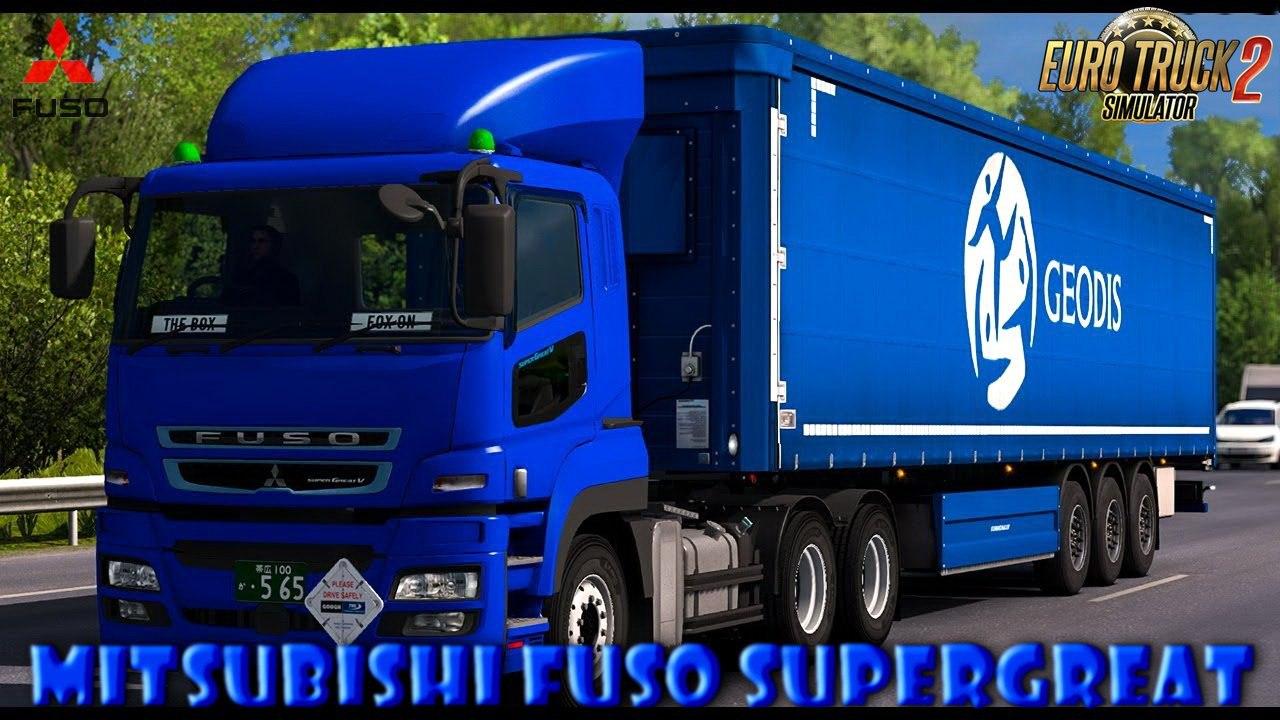 MITSUBISHI FUSO SUPER GREAT V V1.43 БETA [1.30.X]