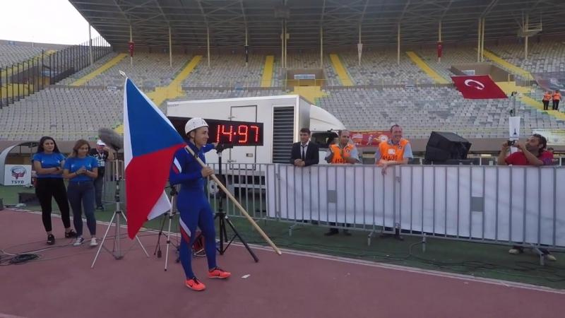 XIII Чемпионат Мира по пожарному спорту. 100 метровая полоса.