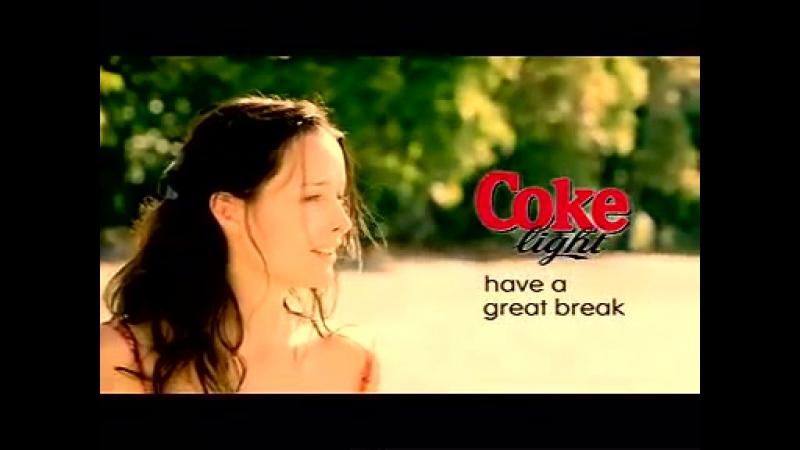 Banned Coke Coca Cola commercial White Collar Sandy Beach Sand