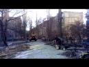 Опиливание тополя у пруда в военном городке. 16.01.2018 г.