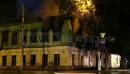 На улице Королёва в Калуге сгорел дом