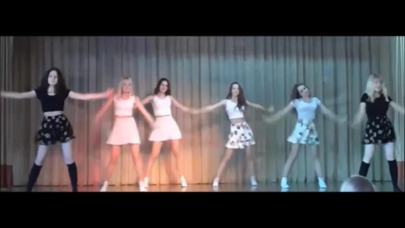 Сделали с девочками танец Между нами тает лед - nicebeatzprod. (очень красивая версия песни)