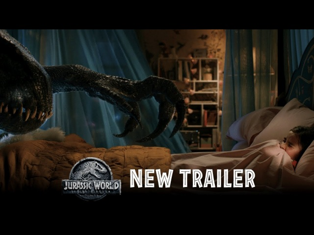 Jurassic World: Fallen Kingdom - Official Trailer 2 [HD]
