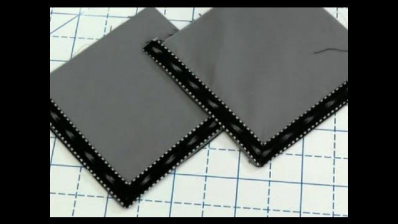 Школа шитья: Прямой угол на бейка