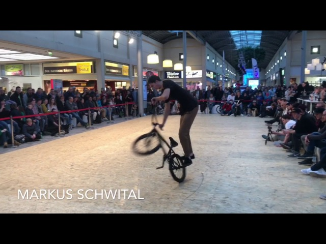 Kunstform BMX Shop Teamrider - Markus Schwital und John Krämer at Fight the winter, 2018