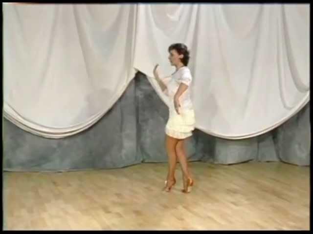 Latin Technique Muscular Excercises HQ Ballroom Dance DVD