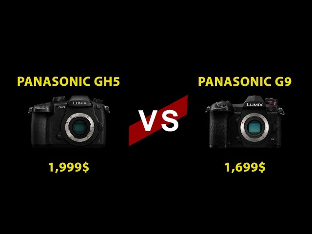 Panasonic GH5 vs Panasonic G9