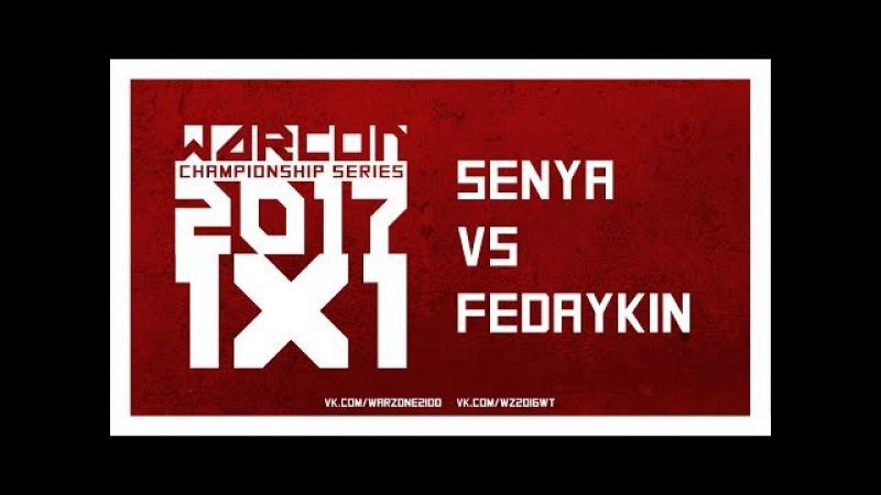 Senya SP vs RBMW Fedaykin WARCON Championship Series 1v1