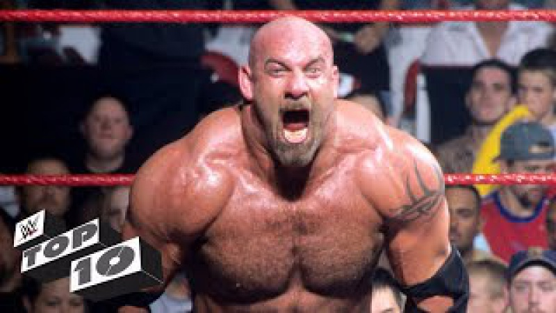 Goldberg's most extreme moments WWE Top 10