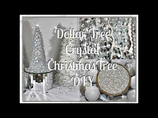 💎🎄CHRISTMAS DIY Home Decor Tag|| Dollar Tree Glam DIY Christmas Tree || Hosted By DIY Mommy❤️