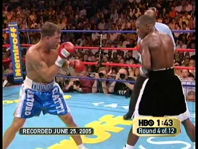 Fight 34 Floyd Mayweather vs Arturo Gatti 2005 06 25