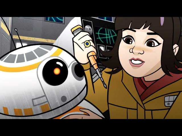 Star Wars Forces of Destiny | Shuttle Shock | Disney
