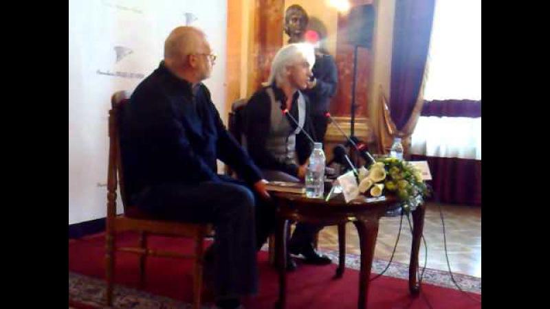 Press briefing with Dmitri Hvorostovsky, Lviv 25/03/2011