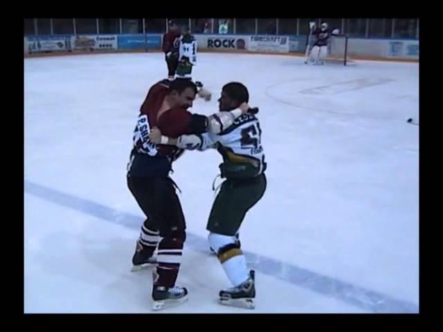 Dannick Lessard vs Paul Shantz Joel Theriault vs Terry Bartlett LHSP 11 02 06