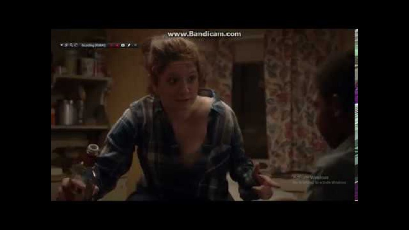 Shameless- Frank Gallagher cuts Debbie's toes