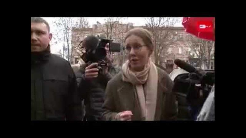 КСЕНИЯ СОБЧАК Унизили в Чечне