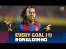 Роналдиньо. Все голы за Барселону 2003-2005