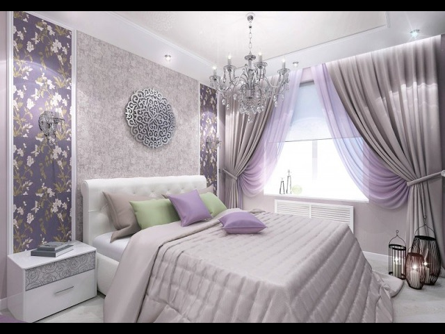 Romantic lavender in the interior Home decoration ideas