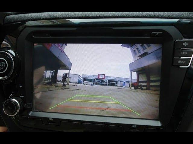 Парктроник с видео по дешману Как это работает Автотовары с ценами