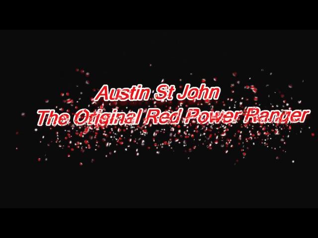 Austin St John Original Red Power Ranger QA 2017