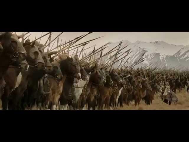 Yüzüklerin Efendisi Kralın Dönüşü Rohirrim Atlıları-.HD.