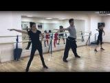 Evgenia Medvedeva &amp Alina Zagitova - jazz dance practice