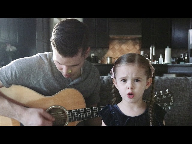 Tomorrow Song from Annie 5 Year Old Claire Ryann Crosby