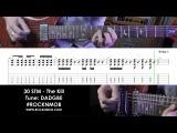 Guitar lesson (tutorial/tabs) 30 Seconds to Mars - The Kill (Rocknmob)