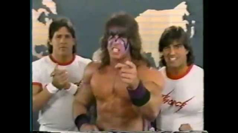 Ultimate Warrior Strike Force Promo on Demolition Fuji (05-21-1988)