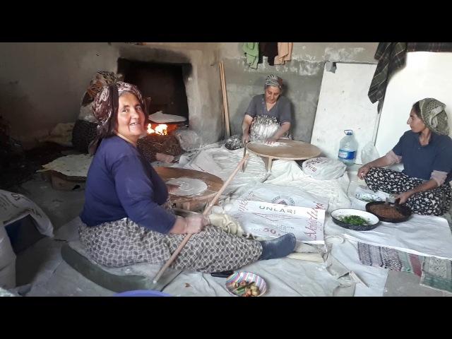 Köy ekmeği nasıl yapılır ellerine sağlık kızlar