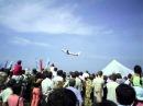 День воздушного флота в г Ульяновске август 2006г Ту 204 с двиг Rolls Royce