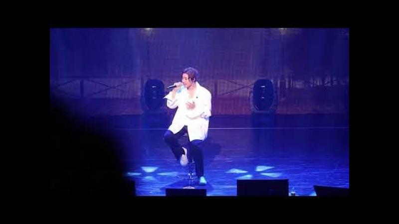 180304 【Because I'm Stupid 僕の頭が悪くて(내 머리가 나빠서)】 Kim Hyun Joong HAZE World Tour in Tokyo 14