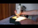 Fan PRL - przedstawia pracę maszyny do szycia/sewing machine Predom Łucznik klasa 455