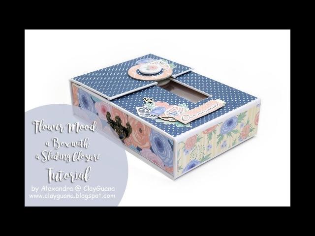 A box with a sliding closure - A Step by Step Tutorial