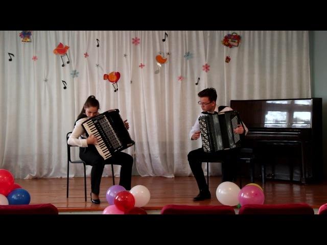 Валеева Алёна и Горюнов Влад - А. Бызов «Казаки»