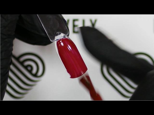 Гель-лак Lovely 036   Глубокий коричнево-красный цвет