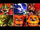 Five Nights at Freddy's 6 FNAF 1 2 3 4 SL All Jumpscares Simulator (Complete!)