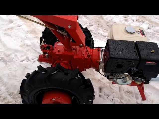 Мотоблок Беларус 012 WM Weima 13 л.с., колеса 6,5L . Сцепка универсальная