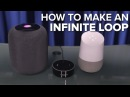 How to make an infinite loop with Apple HomePod Amazon Echo Google Home CNET How To