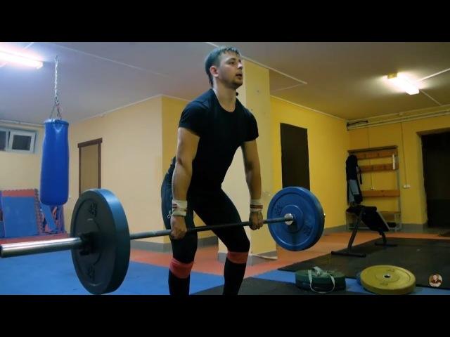 Тренировка по тяжелой атлетике. Урок 1 Взятие штанги на грудь
