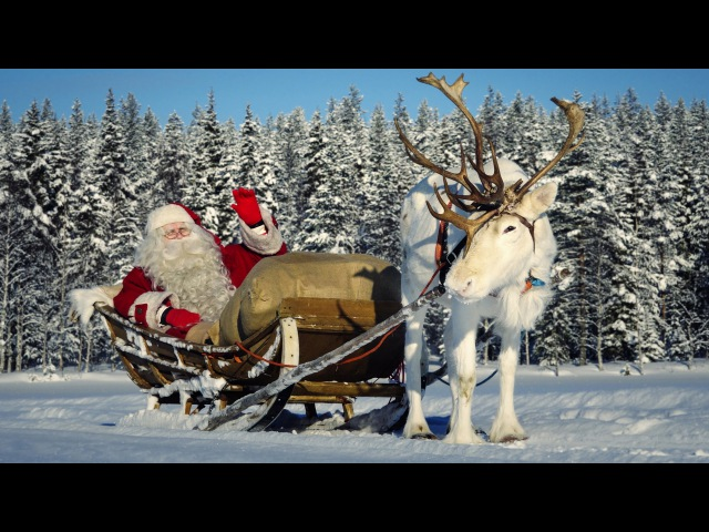 Santa Claus interview - children learning about Father Christmas in Lapland Finland Pello for kids