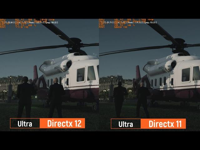 DirectX 12 vs DirectX11 / Windows10 / Palit GTX 1050 Ti Dual OC