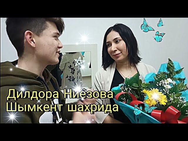 Дилдора Ниёзова Шымкент шахрида Dildora Niyozova Shymkent Shahrida 1 VLOG