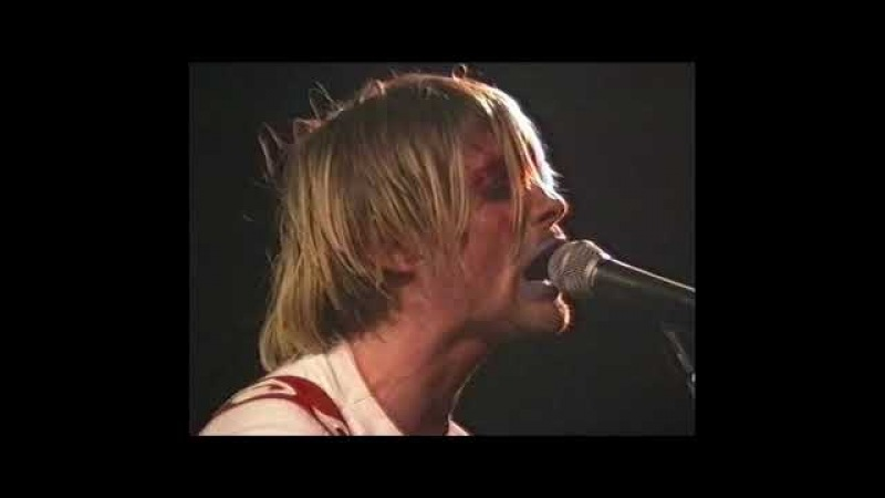 Nirvana (live concert) - October 25th, 1990, Leeds Polytechnic, Leeds, United Kingdom (angle 1)