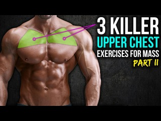 3 KILLER Upper Chest Exercises You HAVEN'T Tried (PART 2!!)